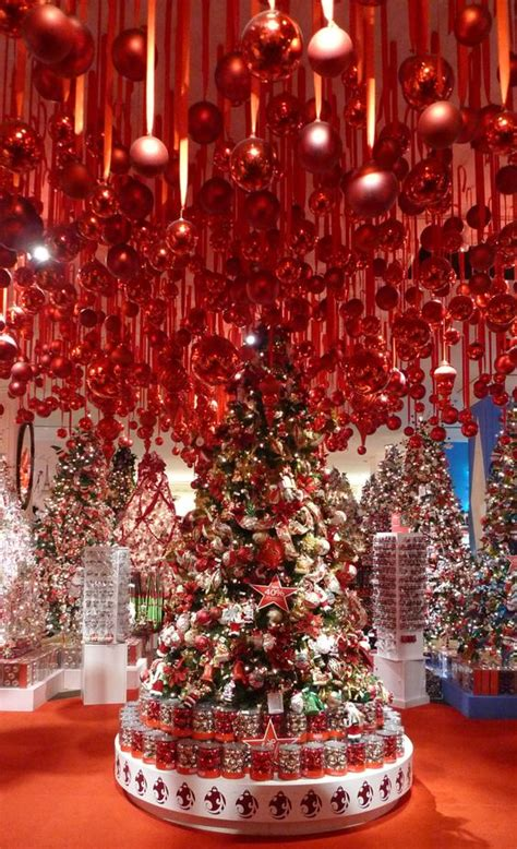 decorated christmas trees ornaments and ceilings on pinterest