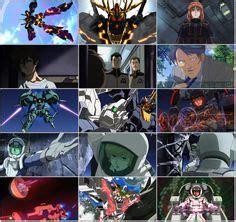 Kaos Gundam Mobile Suite 55 56 ヒル ドーソン 機動戦士ガンダムユニコーン re 0096 ガンダム ユニコーン