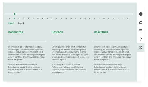 Free Storyline Templates by Free Storyline 360 Template With Glossary Fastercourse