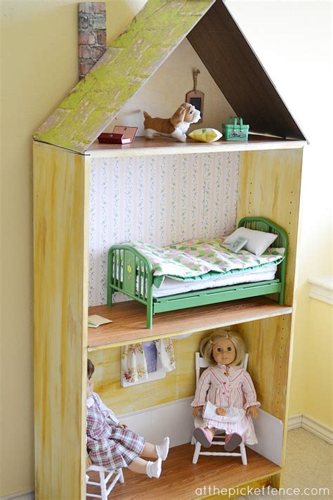diy american girl doll house american girl doll sized dollhouse at the picket fence