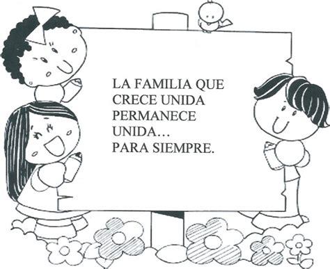 imagenes de la familia para iluminar dibujos infantiles del d 237 a de la familia para colorear