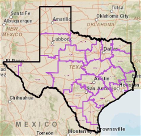texas school region map school district locator