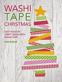washi tape christmas craft washi stitch craft create angela pingel