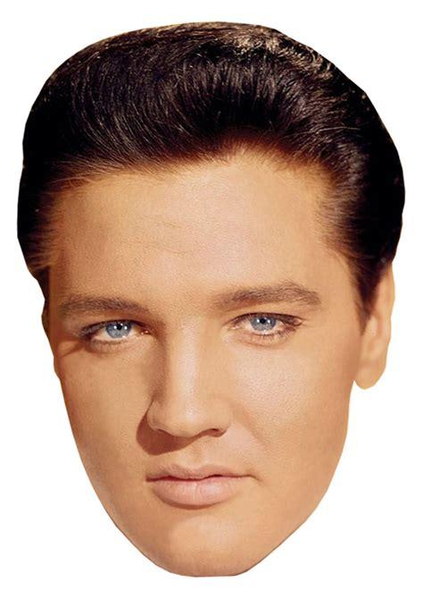 printable elvis mask elvis presley diy celebrity face mask kit