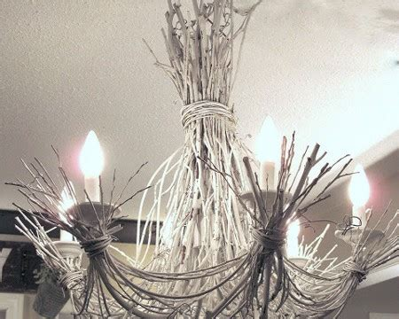 White Twig Chandelier Diy Crafts Archives Page 24 Of 56 Handimania