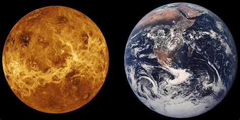 venus earth size comparison  photo  pixabay