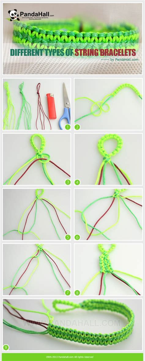 Different Types Of Macrame Knots - macrame different types of and bracelets on