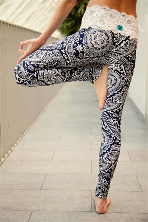 womens pattern yoga pants womens leggings mandala leggings printed leggings yoga