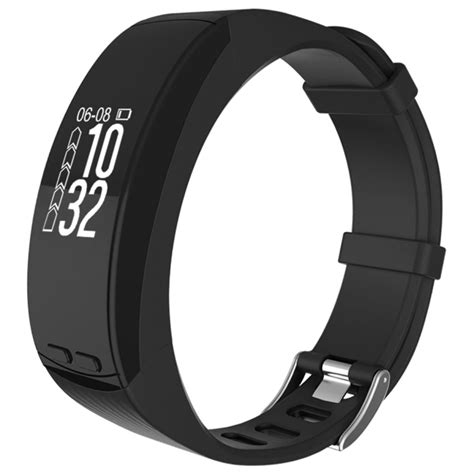 Spovan Smart Gps For Outdoor Traveling Black p5 0 96 inch oled touch screen display bluetooth gps outdoor sports professional smart bracelet