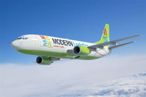 modern logistics starts b737f operations in brazil