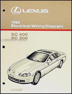 car repair manuals online pdf 1993 lexus sc seat position control service manual pdf 1993 lexus sc workshop manuals lexus sc repair manual ebay 1999 lexus