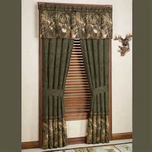 whitetail deer curtains browning r whitetails deer window treatment