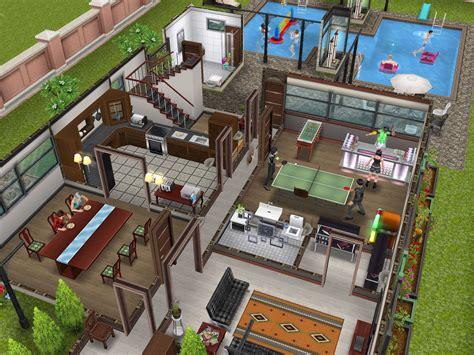 sims freeplay  story mansion floor plan
