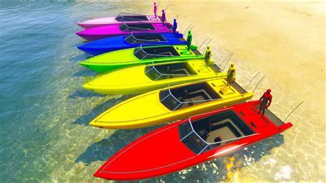 cartoon boat color color boats colors spiderman cartoon and more funny