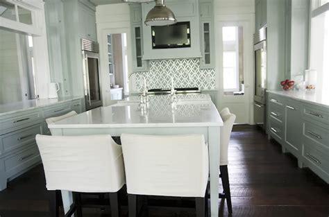 house beautiful ocean inspired kitchen urban grace kitchen hood tv cottage kitchen urban grace interiors