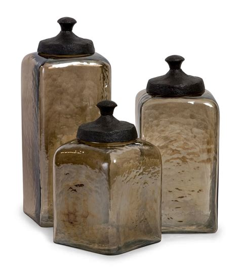 Kitchen Canisters Glass Luxurious Glass Kitchen Canisters All Home Decorations