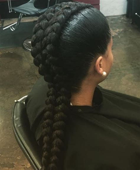 weave two duky braid hairstyle 60 inspiring exles of goddess braids