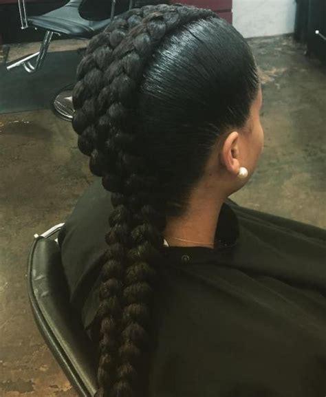 goddess one french braid 60 inspiring exles of goddess braids