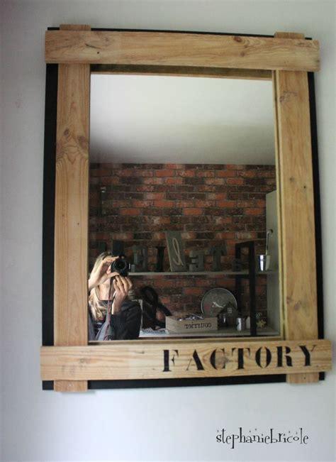 Relooker Un Miroir by Diy Deco Recup Industrielle Relooker Un Miroir Avec Du