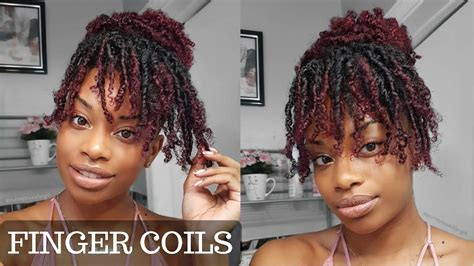 how long will finger coils last how to finger coils on kinky curly hair coil out