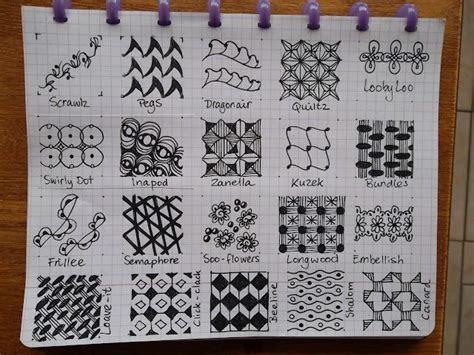 zentangle pattern directory tangle patterns page 10 of 19 doodles zendoodle