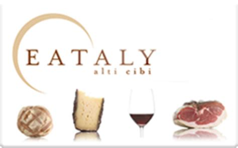 Eataly Gift Card - buy eataly gift cards raise