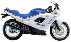 Suzuki Gsx F 600 Suzuki Gsx 600 F Specs 1987 1988 1989 1990 1991