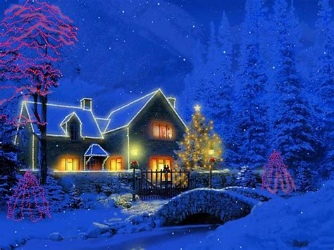 christmas computer wallpaper animated animation wallpapers christmas wallpapers