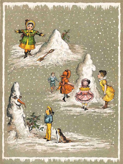 creepy  christmas   unsettling victorian cards