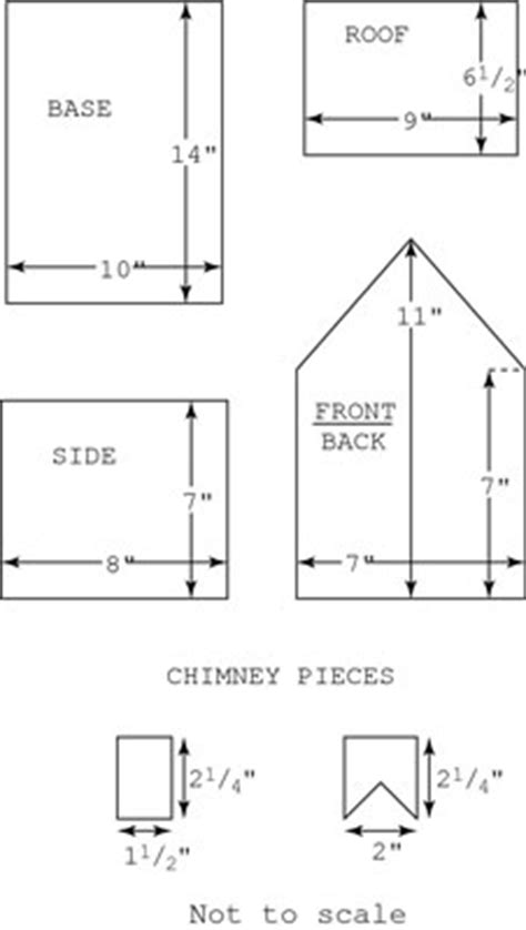 gingerbread house template printable a4 gingerbread and icing for building a gingerbread house
