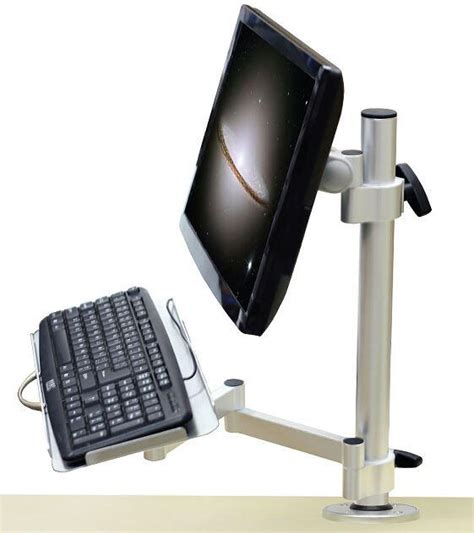 Keyboard And Mouse Stand by Lcd Monitor Desktop Mount Lcd Keyboard Mouse Stand