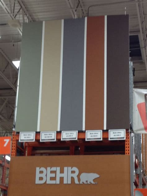Colors for the exterior?   behr dusty olive, mushroom