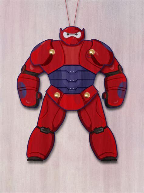 Big Hero 6 Baymax Puppet   Printables 4 Mom