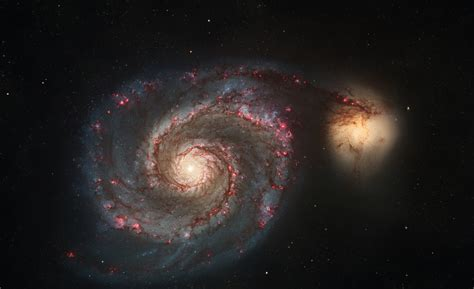 whirlpool galaxy discover the hidden universe at the science museum the