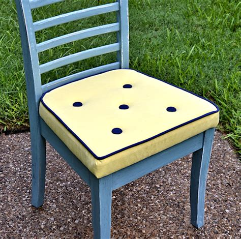 How To Upholster A Dining Chair Seat How To Upholster A Dining Chair With Welt Cord Buttons