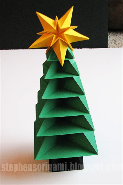 christmas tree paper folding remodelaholic 35 paper decorations to make this season