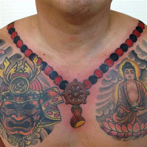 buddhist prayer beads japanese and asian tattoos last