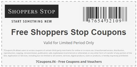 shoppersstop coupons  offers  january  couponsin