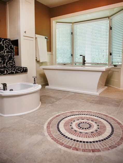 ideas for bathroom flooring beautiful bathroom floors from diy network diy bathroom