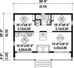Cabin Floor Plans Under 1000 Square Feet House Plan 52784 At Familyhomeplans Com