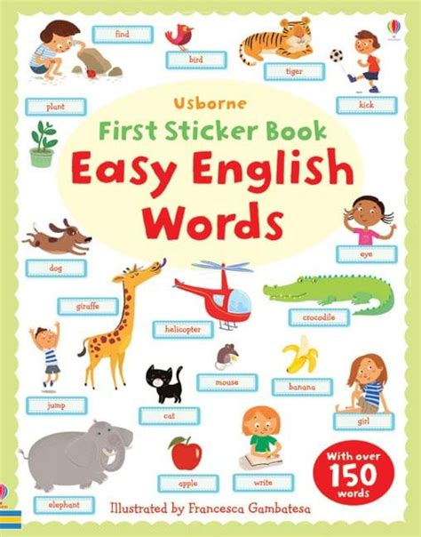 vocabulary picture book easy words at usborne children s books