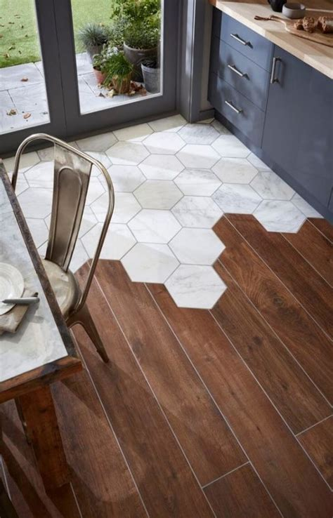 tiles ideas 30 practical and cool looking kitchen flooring ideas digsdigs