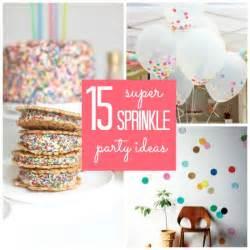 5 sprinkle ideas babble