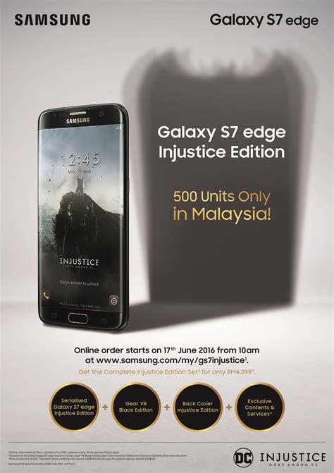 Harga Samsung Galaxy S7 Edge Injustice Edition samsung galaxy s7 edge edisi injustice tiba di malaysia 17