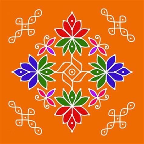 dot pattern rangoli latest flower dot rangoli design rangoli designs