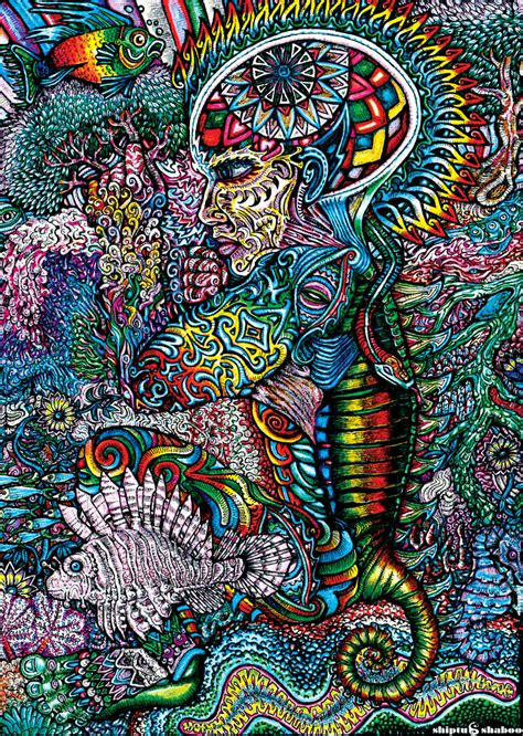 In Trippy Drawings by Psychedelic Drawings Of Shiptushaboo Andrei Verner