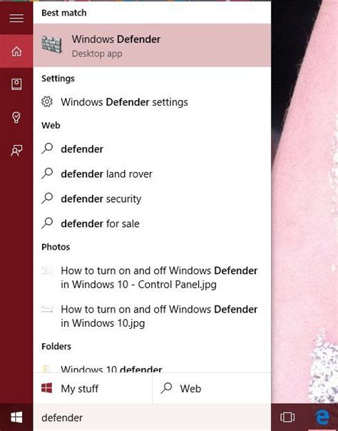 windows 8 defender turn on how to turn on or off windows defender in windows 10 how