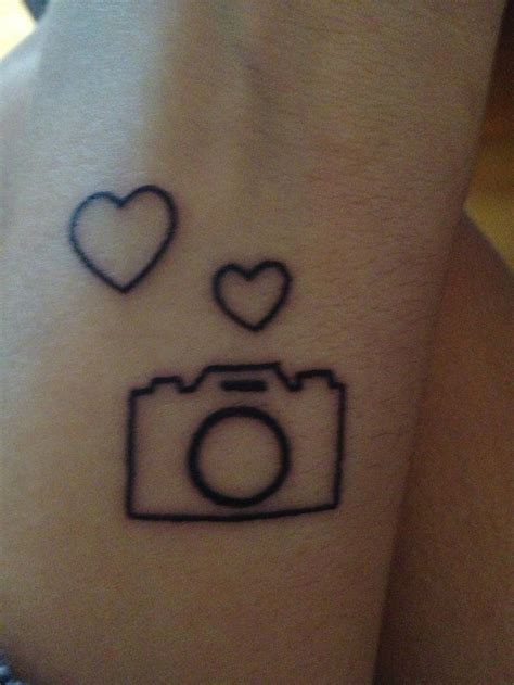 tattoo camera outline tattoos