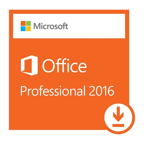microsoft office professional 2016 1 pc for windows