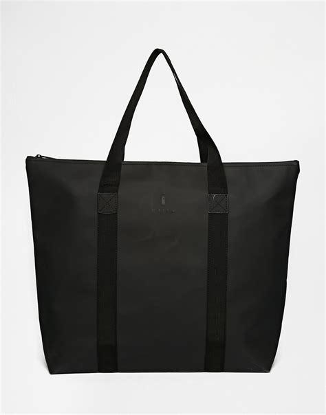 Tote Bag Big lyst rains large tote bag in black